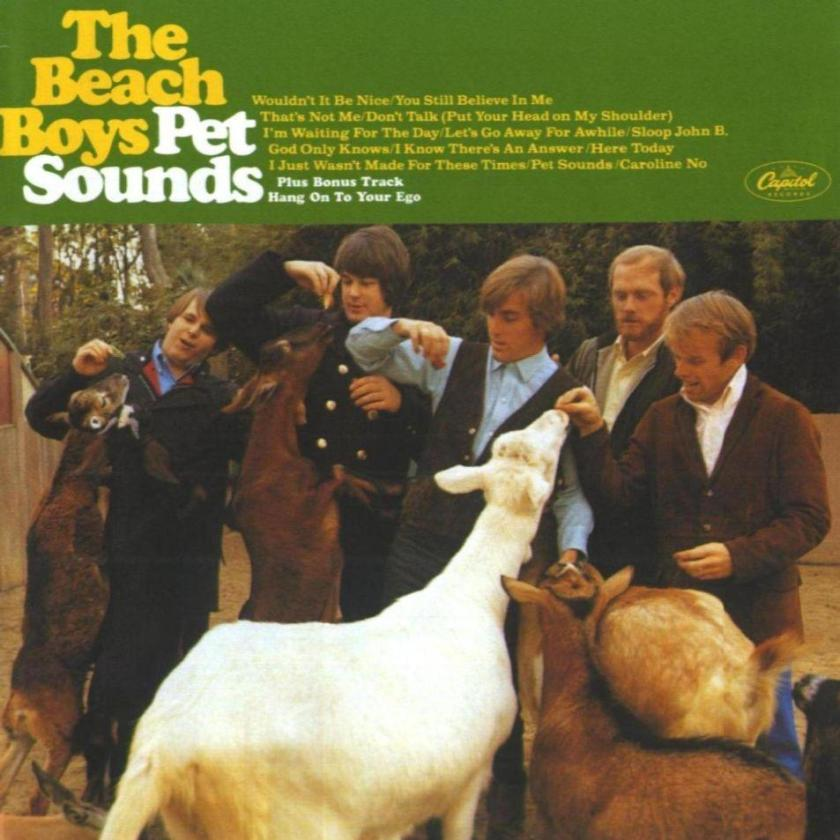 The beach boys - pet sounds - front