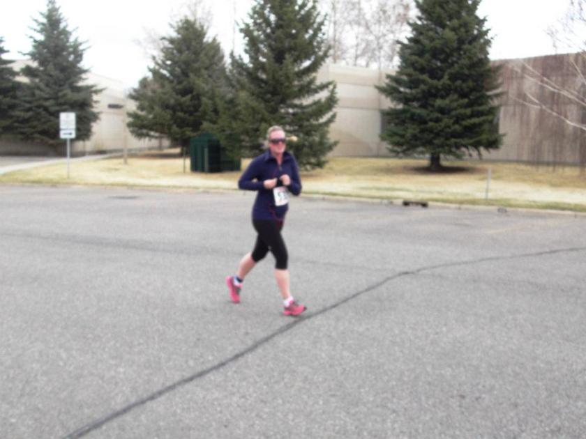 I am NOT a very good distance runner
