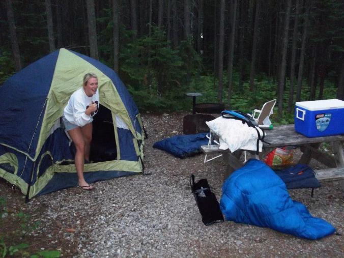 Tent # 1