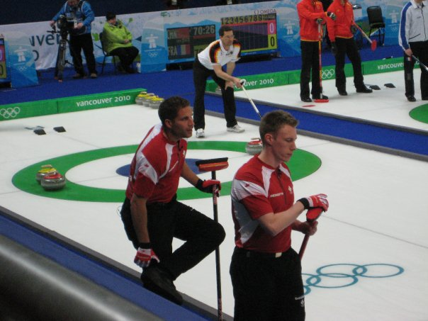 Olympic curling 2010