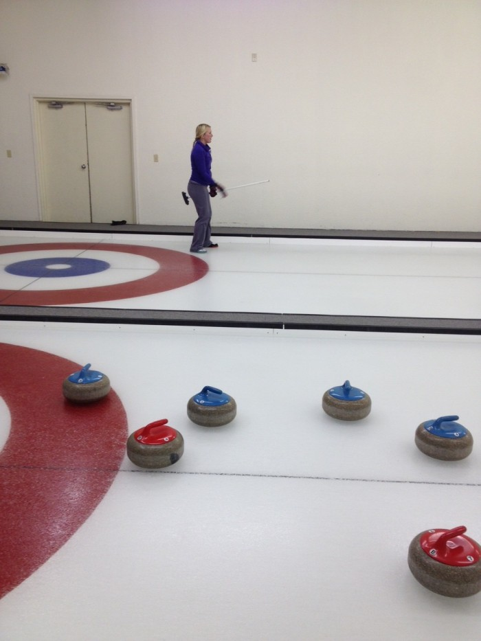 I've really been enjoying curling!