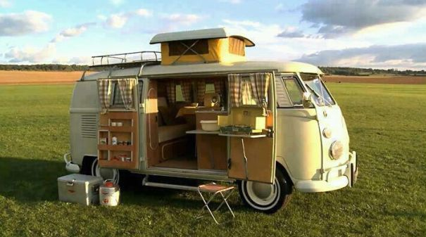 I would LOVE a VW camper van!
