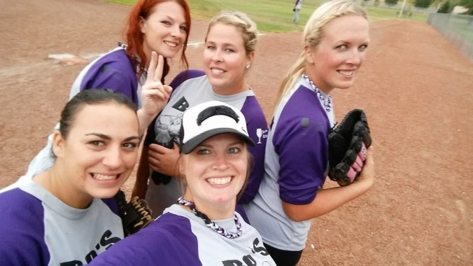 Softball ladies!