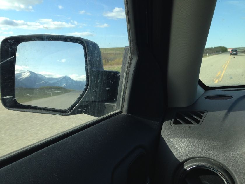Hate seeing the mountains in the rear view mirror